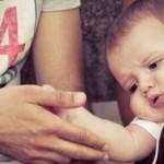 1秒で3cm!赤ちゃんが泣きやむとっておきの技