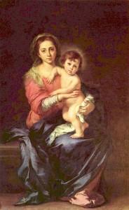 バルトロメ・エステバン・ムリーリョ「聖母子」